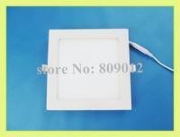 LED panel light flat lamp square 120X120 6W / 150X150 9W / 170X170 12W / 200X200 15W / 225X225 18W SMD2835 AC85-265V high bright