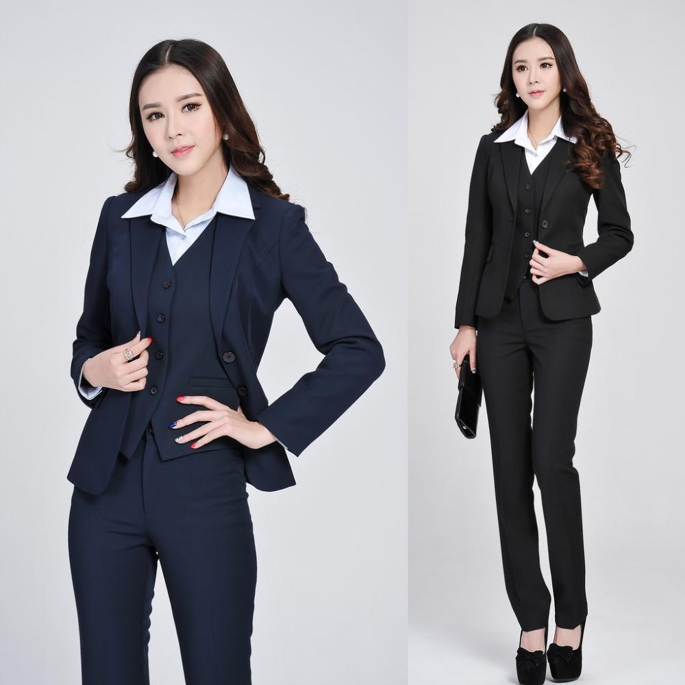 Trajes formales mujeres empresarias con pantal 243 n chaqueta chaleco