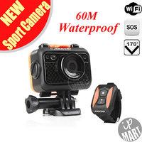FS! SOOCOO S60 Sport Action Camera Anti-Shock 60M Waterproof Wifi 1080P Full HD 170 Degree Lens Wireless Remote Control Mini DV