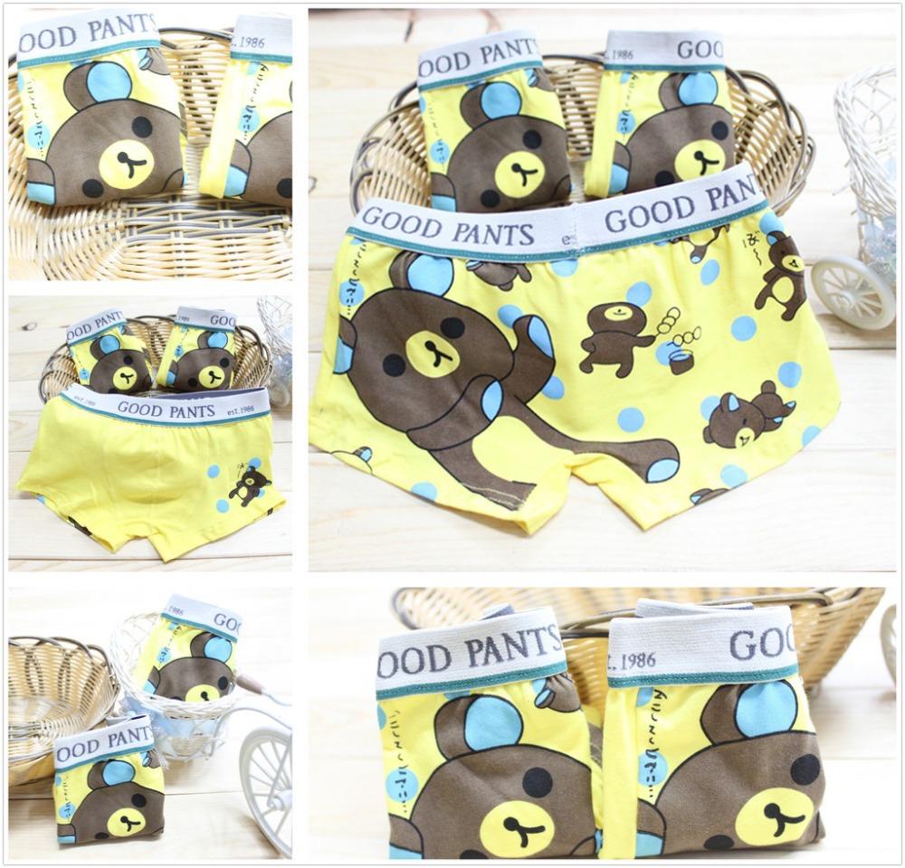 hot sell panties boxer boys underwear bear kids briefs(China (Mainland))