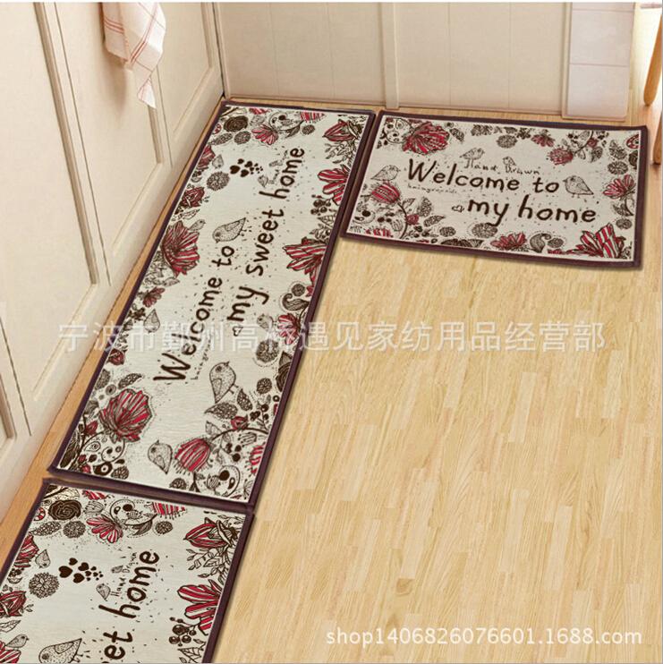 Utensilios De Baño Lista: para sala de estar de la puerta delantera del PVC estera del piso