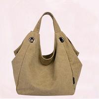100%  Canvas  Casual  Women Shoulder Bags Handbag Women Tote Fashion  Brand Shopping Bag  From Guangzhou