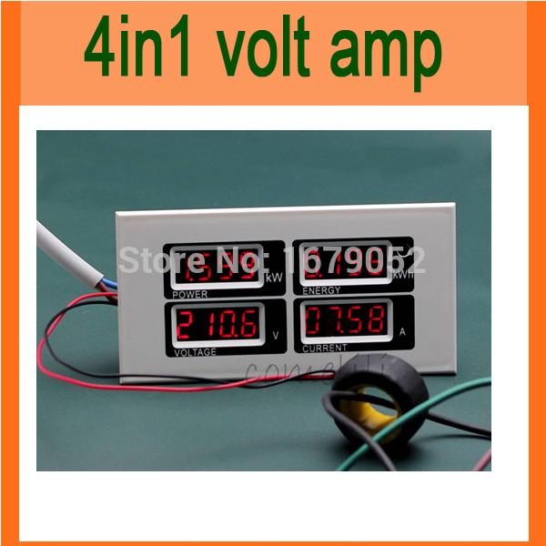 Вольтметр AC 110v/220v 100