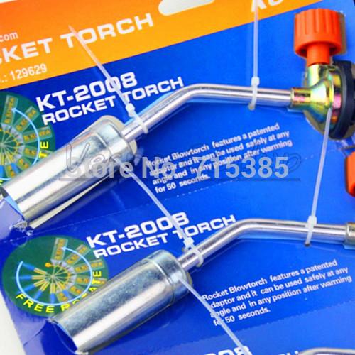 Enhanced Butane Version Gas Blow Soldering Cooking Torch Weld Gun Welding Picnic Heating Iron Lighter Burner Fire Flame Starter(China (Mainland))