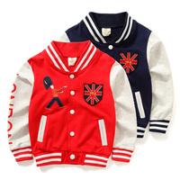 YN-0388, children baseball uniform, long sleeve sport sweatshirt outerwear