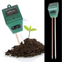 3 in 1 Plant Flowers Soil PH Tester Moisture Measuring humidity Light Meter Hydroponics Analyzer