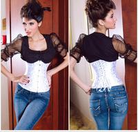 New summer European  palace body sculpting  split corset vest