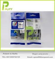 20pcs Mixed colors choosable 24mm compatible tze tape laminated tape TZ251 tze-251