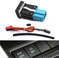 Volkswagen VW Jetta MK5 Original Tire Pressure Monitoring Warning TPMS Switch SET Button With Wire