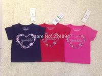 Freeshipping  2015 NEW fashion  100% cotton babies t-shirt  boy's t-shirt  fashion kid's short t-sirt for 6-36M A0568