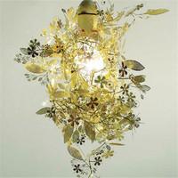 New Artecnica Garland Light Gold Chrome Tord Boontje Garland Chandelier DIY Light  Pendant Lamp PL88