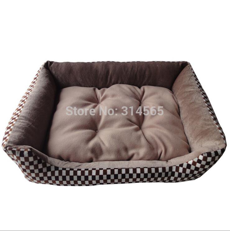 Cama do cão Golden Retriever grandes canis quadrado - ninho quente gato ninho de algodão suprimentos Mat cão de estimação(China (Mainland))