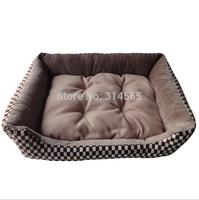 Golden Retriever Dog Bed Large Dog Kennels Square - Warm Nest Cat Nest Cotton Dog Mat Pet Supplies