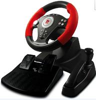 usb computer game Gaming Steering Wheel Padel Hand brake Gear suction-cup Strong/weak vibration adjustable Racing simulation