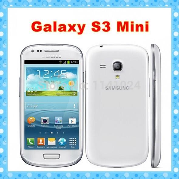 "I8190 Original Samsung Galaxy S3 mini Phone Dual-core 4.0""Touch 5MP Camera 8GB ROM 3G WIFI GPS Unlocked Mobile phone(China (Mainland))"