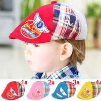 Free shipping 1 Piece summer cotton Sun Hat Cute flower Headwear Baby Hats+age 6-24 months, lovey Children kids Girl/boy Cap