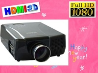 free shipping LED home video projector