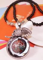 Fashion vintage elephant necklace Vintage necklaces Jewelry wholesale!!for women