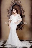 2015 New white/ivory Wedding Dress Bridal Gown Custom Size: 6 8 10 12 14 16
