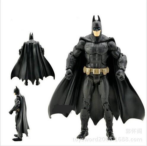 "7""18CM The Dark Knight Movie Batman Superhero action figure Toy Collection superhero figures robot Kids classic toys(China (Mainland))"