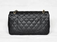 C Line Bag Bag Genuine Leather Woman Bags Fashion 2015 Designers Bolsas de marca Caviar Skin Bolsas Double Flap Bolso Vintage
