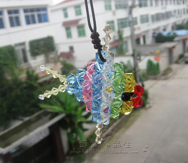 Austria imported crystal new special car hanging pendant car ornaments tropical fish(China (Mainland))