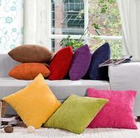 High Quality Corn kernels Corduroy Sofa Decor throw Pillow Case Cushion Cover # Square 50cm