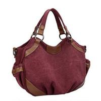 Big Capacity Ruched Casual Canvas  Women Tote Fashion Women Shoulder Bags Handbag Brand Shopping Bag  From Guangzhou