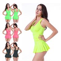 one pieces dress womens tankini swimsuits fashion beach female , womens swim tankini sets HDPsm27
