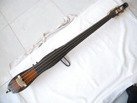 one  right  hand   4 string  black 3/4 new    Electric Upright Double Bass new 12202#