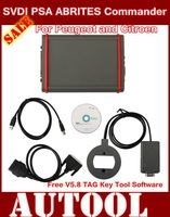 2015 New SVDI PSA ABRITES Commander For Peugeot and Citroen with Free V5.8 TAG Key Tool Software