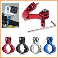 Free shipping NEW Aluminum Standard Handlebar Bike Clamp Mount for GoPro HD Hero 1/2/3/3+ w/ tool
