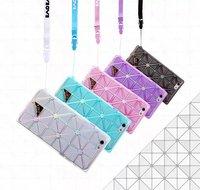2015 Fashion Design BAOBAO Issey Miyake Soft TPU Back Cover Case For Apple iPhone 6 4.7/5.5 inch Capa Celular,free shipping