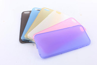 """10pcs/lot New arrival frosted TPU case cover for iphone 6 4.7"""" with dust plug, Free shipping"""