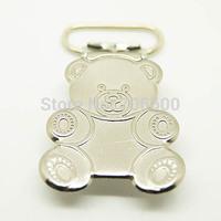 Hot selling!100pcs per lot,panda shape suspender clips,Wholesale Suspender Clip,Suspender Clips Suppliers & Manufacturers
