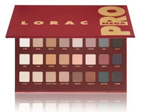 free shipping 2015 New Makeup lorac mega pro palette 32 color eyeshadow palette 17.6g!!(24 pcs/lot)