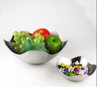 European simple creative fashion fruit compote bowl dish snack bar basket living room furnishings 2pcs/set