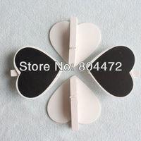 4x Free Shipping Mini Blackboard Chalkboard Heart Wedding Place Card Stand | Wedding Table NO. Label |Mini Blackboard PEG Clips