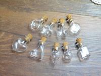 Mini trumpet love pentagram pendant lucky Wishing drifting round glass bottle dream catcher freeshipping