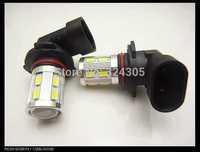 2pcs/lot 9006 hb4 12 SMD 5630 + 1 Cree LED Daytime Running  brake light Fog Light Head Lamp white blue red