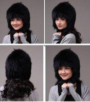 Winter Hat Real Fox Fur Hat Russian Ushanka Cossack Women Beanie HC 017 1