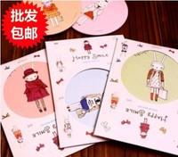 Min Order $15(mixed order)  Lovely cartoon Rabbit small round mirror / cosmetic mirror  /A portable mirror  3303 al