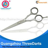 """2014 HOT Unique handle 5.5inch hair cutting scissors 5.5"""""""