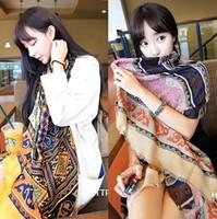 Retro Totem Pattern 2013 Scarf shawl female cotton twill! Wholesale!free shipping!,winter scarf,women scarf