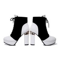 NEW fashion 2015 Free shipping hot sale 6-8cm  high heel women platform pumps women Thick heel shoes46