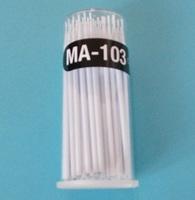 100pieces/Pack Glue Removing Tool Disposable Makeup Brushes Swab Lint Free Micro Brushes Eyelash Extension Tool Individual Lash