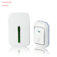 36 Tunes Wireless Doorbell Digital  Door Chime Remote Control Warterproof 150m Range Receiver Office 220V 110V Smart Home