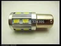 2 pcs/lot 1157 BAY15D 12 SMD 5630 + 1 Cree LED brake light parking Light Bulb stop Brake Lamp white blue red