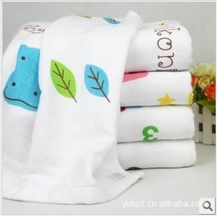 2015 100% cotton thigh degree of double honey cotton gauze towel children shower towel infant baby bath towel cap 115 * 95(China (Mainland))
