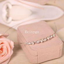 Hot Sale 2014 New Fashion Crystal Rhinestone Glitter Pearl Bling Headband Hair Band Bridal Wedding Jewelry A2